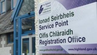 Ionad Seirbheis Comhairle na Gàidhealtachd