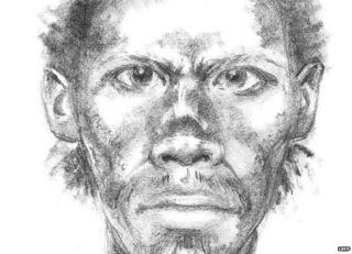 Artist impression of the man suspected of killing Pragaret Singh, who was known as Charlie