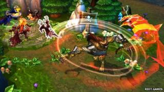 Screenshot from League of Legends