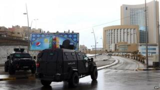 Libya gunmen attack Corinthia Hotel in Tripoli