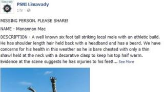 Limavady unusual missing person appeal