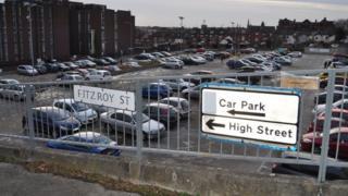 Crown Car Park, Ipswich