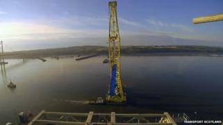 Work on Queensferry Crossing