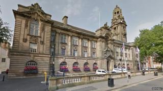 Walsall council offices