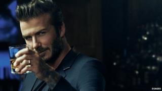 David Beckham in Haig Club advert
