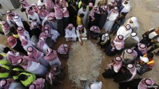 King Abdullah's grave