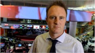 BBC's Director of News James Harding