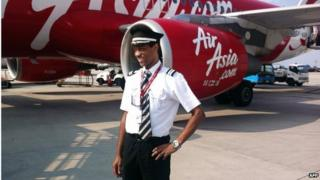 This handout picture taken in 2013 and provided on 31 December 2014 by the Plesel family shows the co-pilot of the ill-fated Malaysian air carrier AirAsia flight QZ8501, Remy Emmanuel Plesel.