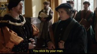 Subtitles on Wolf Hall