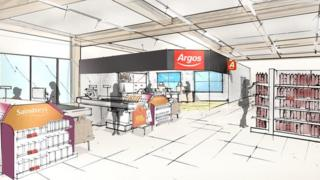 Argos concession mock-up