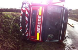 Fire engine, Onehouse, Suffolk