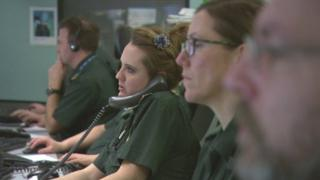 Paramedic call centre workers