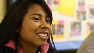 Mexican children cross Texas border to attend school