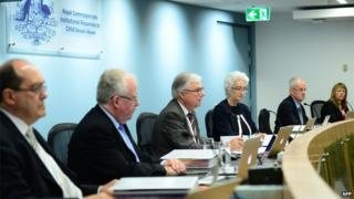 Royal commission investigating response to child sexual abuse, September 2014