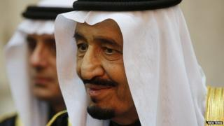 King Salman of Saudi Arabia. 27 Jan 2015