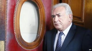 File photo: Dominique Strauss-Kahn leaving a Paris courthouse in February 2013