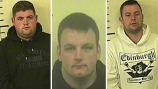 Three men jailed for serious organised crime offences