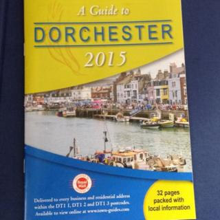 A Guide to Dorchester 2015