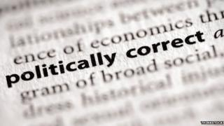 A dictionary defenition of politically correct