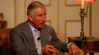 Prince Charles at Clarence House on November 20, 2014