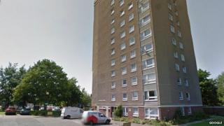 Tower block of flats