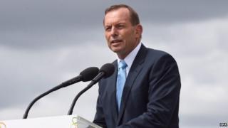 Tony Abbott speaking in Canberra on Australia Day - 26 January