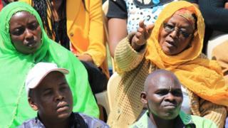 The audience at a Sema Kenya programme