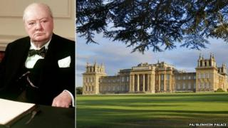 Winston Churchill/Blenheim Palace
