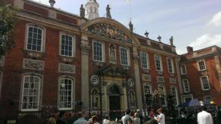 The Guildhall, Worcester - archive image