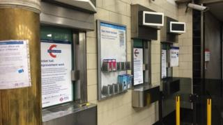 Queensway station ticket office