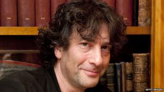 Novelist Neil Gaiman