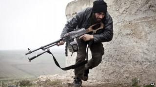 Syrian opposition soldier