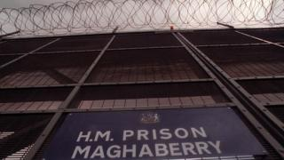 Maghaberry prison gates