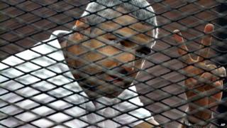 Canadian-Egyptian journalist Mohamed Fahmy - 1 January 2015