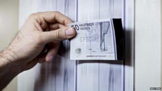 Danish krone notes
