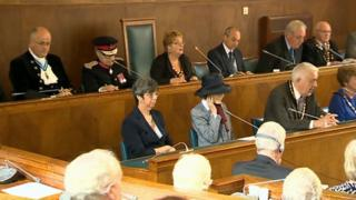 A meeting of Carmarthenshire council