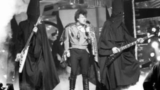 Gary Glitter on Top of the Pops Christmas special 1988