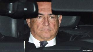 Dominic Strauss-Kahn arrives at court in Lille to face charges of aggravated pimping