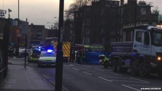 Homerton High Street collision