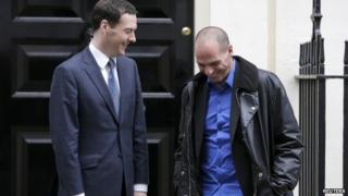 Varoufakis and George Osborne