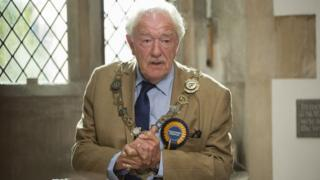 Sir Michael Gambon in The Casual Vacancy