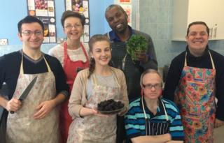 Stepping stones cookery class