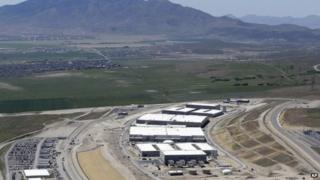 This June 6, 2013, file photo, shows the National Security Agency's Utah Data Center in Bluffdale, Utah.