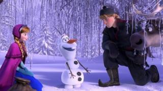 Frozen animation