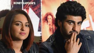 """Sonakshi Sinha (left) and Arjun Kapoor were present at the AIB's """"roast show"""""""
