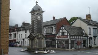 Rhayader Memorial Clocktower
