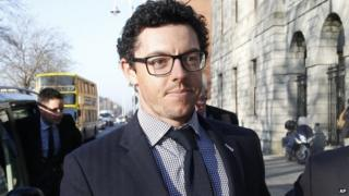 Rory McIlroy was in court in Dublin for a brief hearing