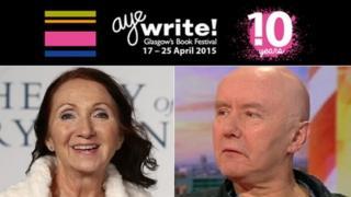 Jane Wilde Hawking and Irvine Welsh