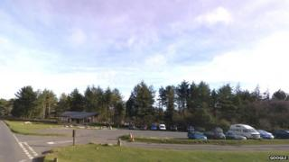 Hay Tor car park