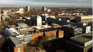 Coventry's city centre